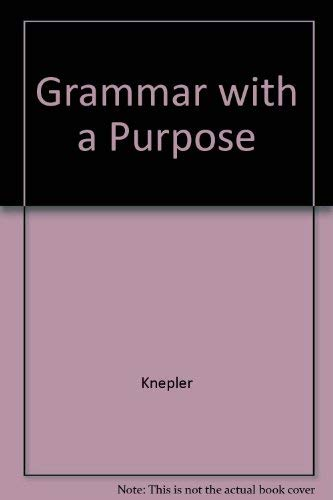 9780838433782: Grammar With a Purpose