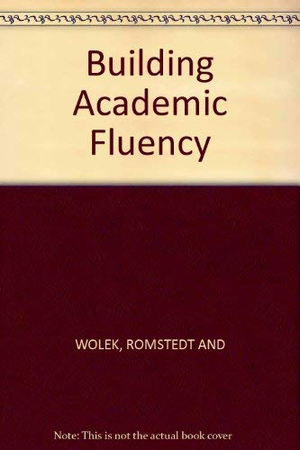 9780838434123: Building Academic Fluency