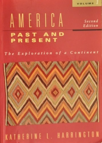 9780838434390: America: Past and Present : The Exploration of a Continent