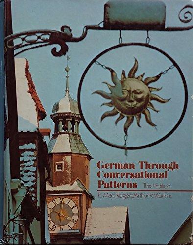 9780838435984: German Through Conversational Patterns