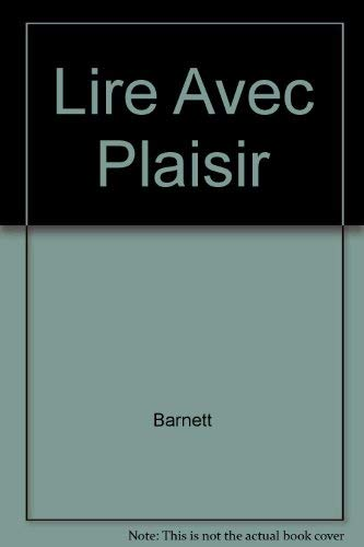 9780838436615: Lire Avec Plaisir (English and French Edition)