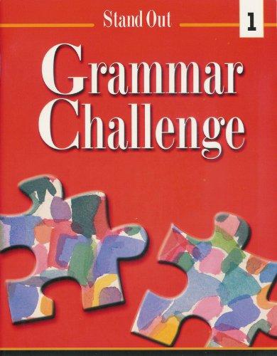 Stand Out L1-Grammar Challenge Workbook: Rob Jenkins, Staci Johnson