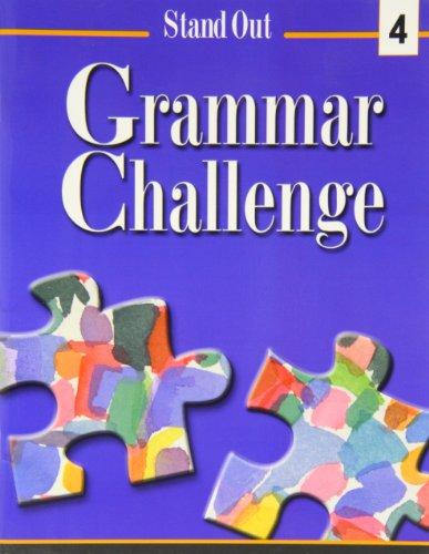 9780838439395: Stand Out Grammar Challenge: Workbook Level 4