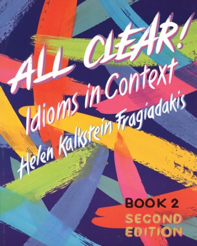9780838439661: All Clear! Idioms in Context