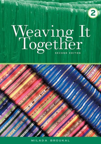9780838439777: Weaving It Together 2 (College ESL)