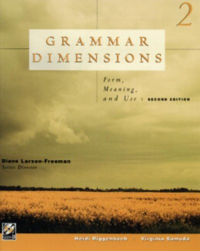9780838440025: Grammar Dimensions: Form, Meaning, and Use (Student Text 2)