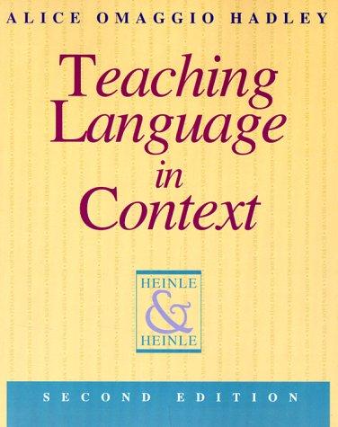 9780838440674: Teaching Language in Context