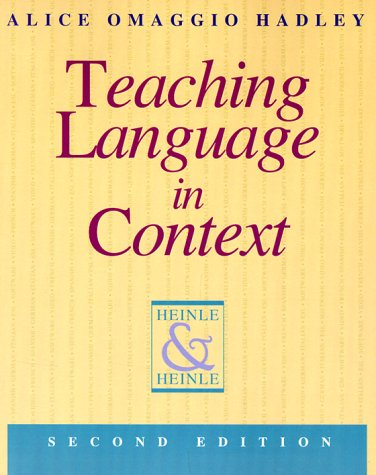 9780838440674: Teaching Language in Context