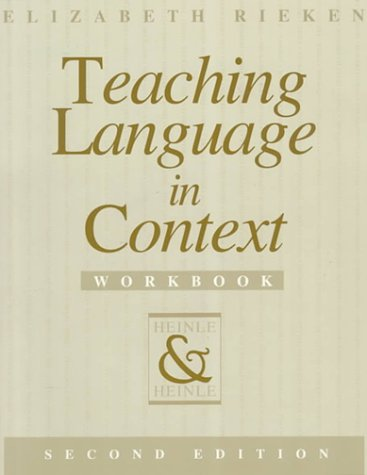9780838440681: Teaching Language in Context