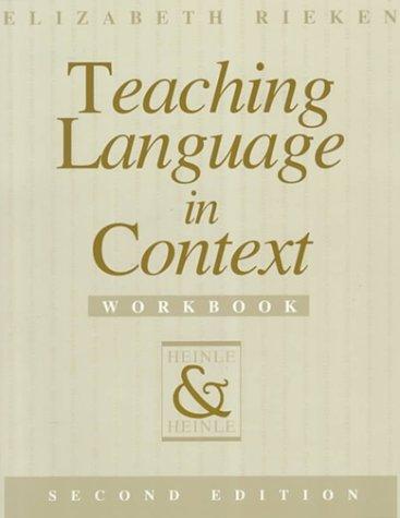 9780838440681: Teaching Language in Context Workbook