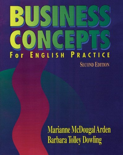 9780838440773: Business Concepts for English Practice