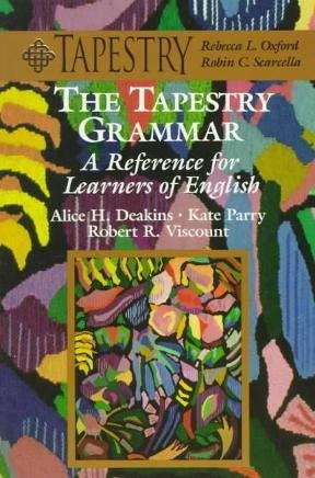 9780838441220: The Tapestry Grammar: A Reference for Learners of English (College ESL)
