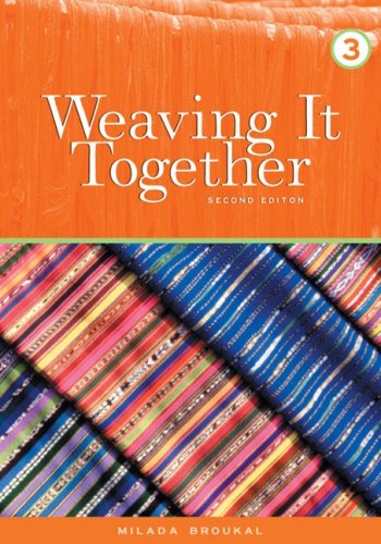 9780838442227: Weaving It Together 3 (College ESL)
