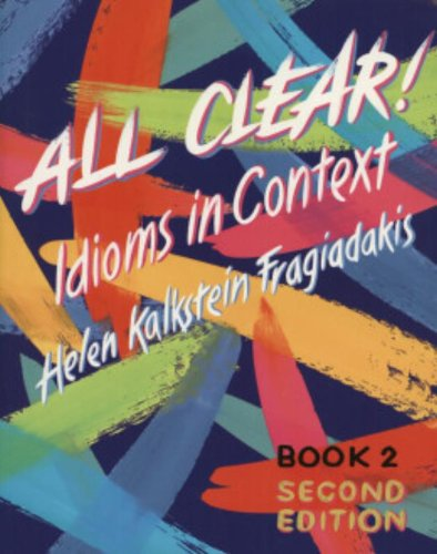 9780838442234: All Clear! Idioms in Context (Text/Audio CD Package)