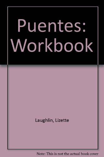 9780838442982: Puentes: Spanish For Intensive and High-Beginner Courses