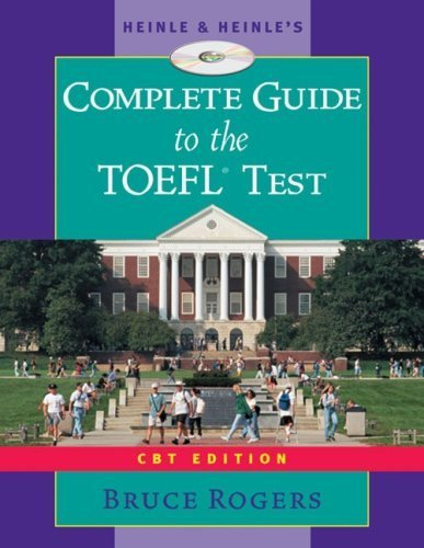 9780838443897: Heinle's Complete Guide to the TOEFL Test, CBT Edition, Text/CD-ROM/Audio Tape Package
