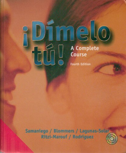 9780838445471: Dimelo Tu (Spanish Edition)
