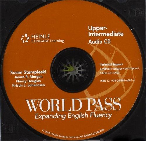 9780838446874: World Pass Upper-Intermediate: Audio CD