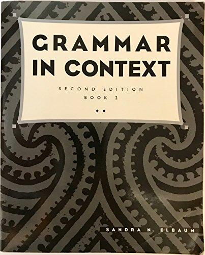 9780838446898: Grammar in Context 2