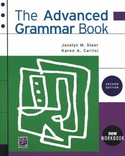9780838447154: The Advanced Grammar Book
