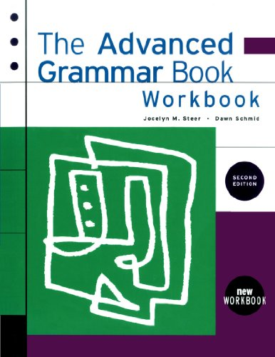9780838447178: The Advanced Grammar Workbook