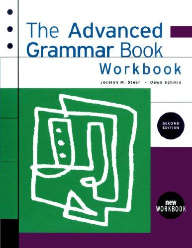 9780838447178: The Advanced Grammar Workbook