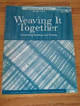 Weaving It Together: Instructor's Manual Books 1 & 2: Milada Broukal, John Chapman, Stan ...