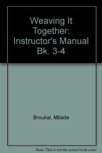 Weaving Together Bk3 2e-Im: Milada; Chapman, John;