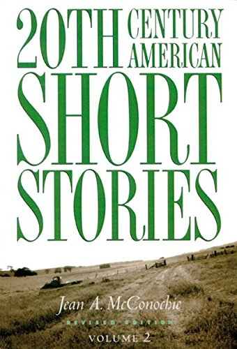 9780838448519: 20th Century American Short Stories, Revised Edition, Volume 2