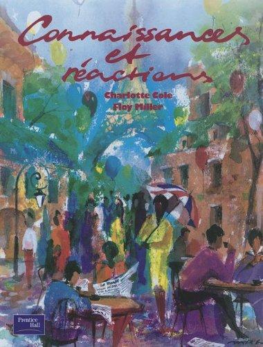 9780838449509: Connaissance Et Reactions-Student Text 1995c