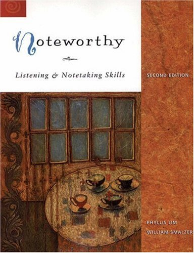 9780838450093: Noteworthy: Listening and Note Taking Skills