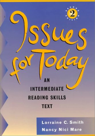 9780838450253: Issues for Today: An Intermediate Reading Skills Text