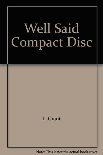 9780838450949: Well Said Compact Disc
