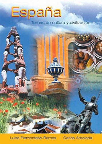 Espana: Temas de cultura y civilizacion: Luisa Piemontese Ramos, Carlos Arboleda