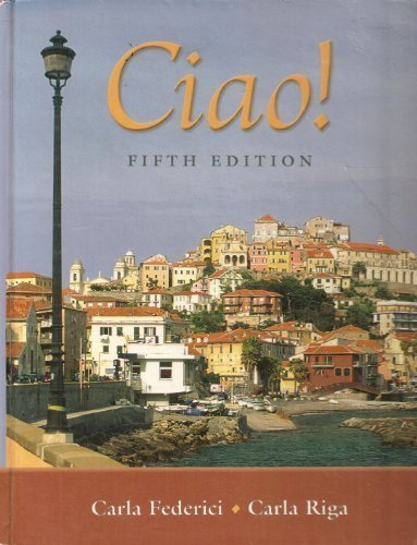 9780838451793: Ciao! 5th Edition