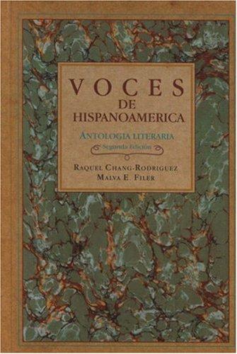 9780838451861: Voces de Hispanoamérica: Antología literaria