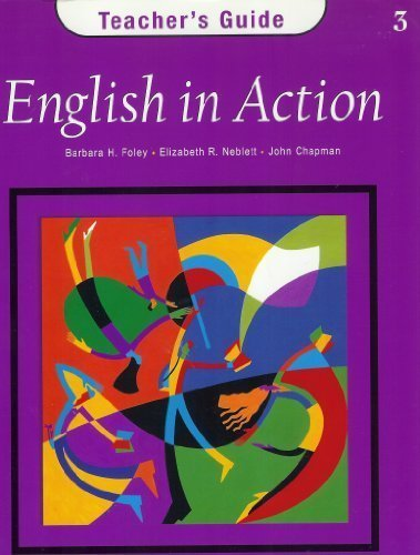 9780838451960: English in Action: Teachers Guide Level 3
