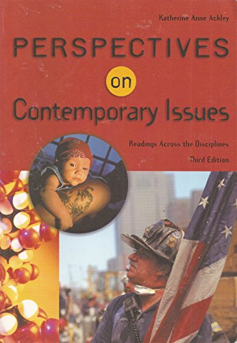 9780838452547: Perspectives on Contemporary Issues (with InfoTrac)