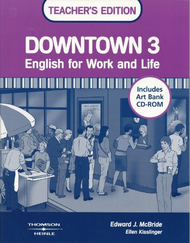 9780838453285: Downtown 3 Teacher's Edition with Art Bank CD-ROM