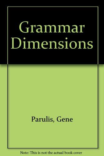 9780838454053: Grammar Dimensions: Workbook 4B