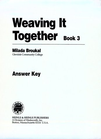 9780838454152: A.K. Weaving It Together - Book 3