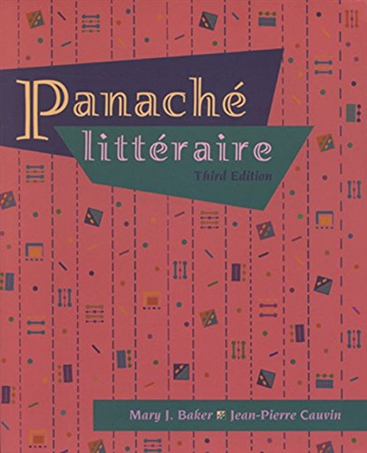 Panache litteraire (with Audio Tape): Baker, Mary J.; Cauvin, Jean-Pierre