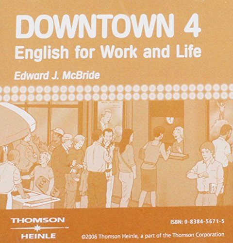 9780838456712: Downtown 4: Audio CDs (2)