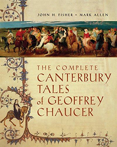 9780838457085: The Complete Canterbury Tales of Geoffrey Chaucer
