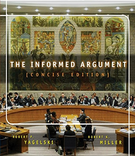 9780838457092: The Informed Argument, Brief Edition (with InfoTrac)