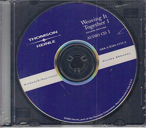 9780838457351: Weaving It Together 1 Audio CD
