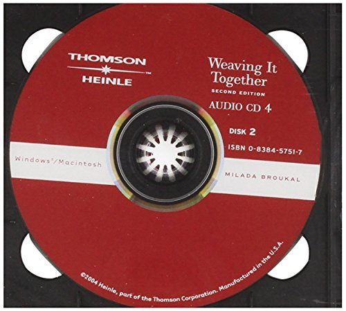 9780838457511: Weaving It Together 4 Audio CD
