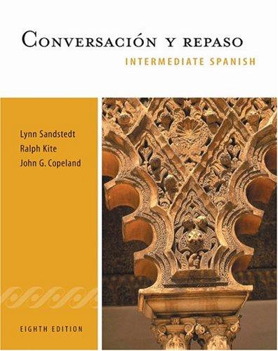 9780838457696: Conversacion y repaso: Intermediate Spanish Series (with Audio CD) (World Languages)