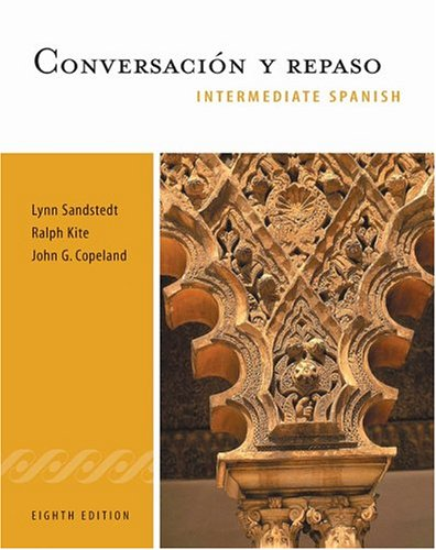 9780838457696: Conversacion y repaso: Intermediate Spanish Series (with Audio CD) (World Languages)