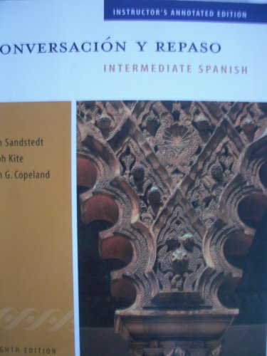 9780838457788: Conversacion Y Repaso: Annotated Teacher's Ed With Instructor Resource Cd